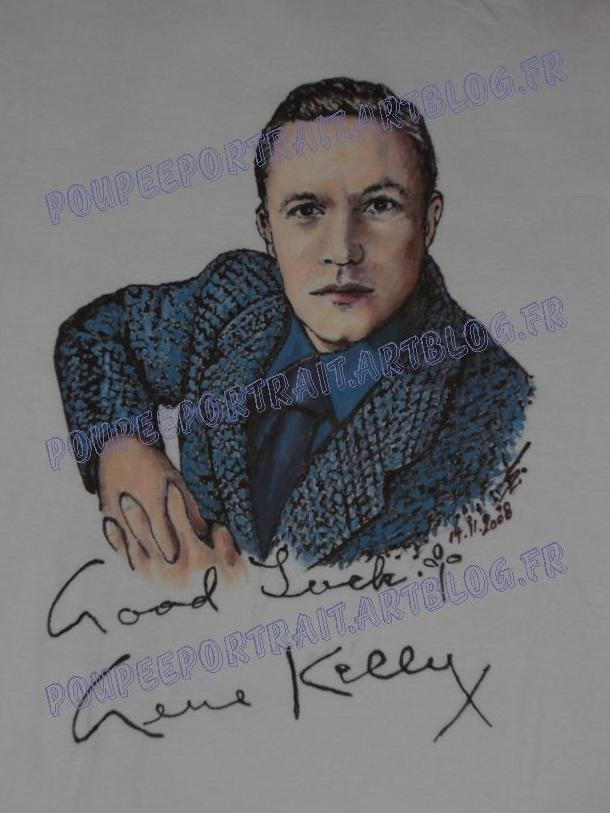 Gene Kelly by poupeeportrait